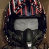 maverick-original-helment-on-display