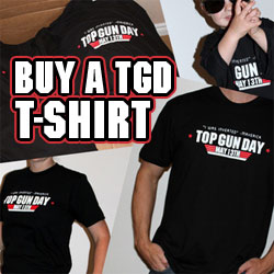 Call the ball! Buy a TopGunDay T-Shirt